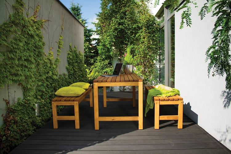 Stół do ogrodu drewniany