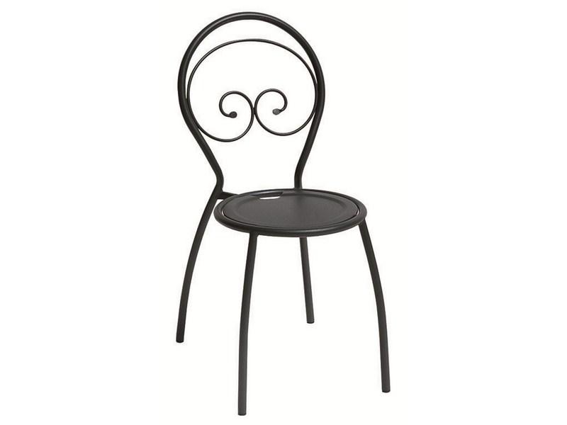 Krzesło Fiona metalowe do ogrodu RD Italia