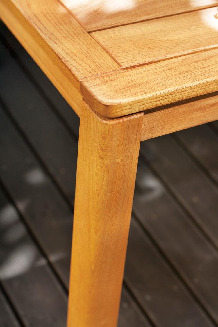 Stół drewniany na taras galaxy Rondo