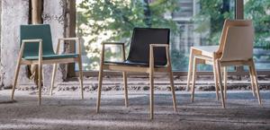Krzesło Pedrali Malmo tapicerka