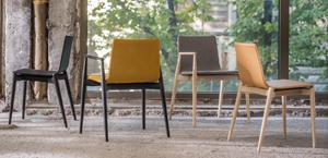 Krzesło Pedrali Malmo skóra