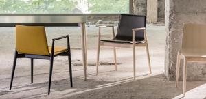 włoskie Krzesło Pedrali Malmo