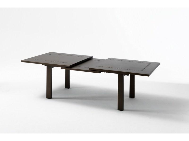 Duży stół rozkładany do ogrodu HELIOS XL metalowy