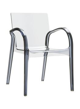 Krzesło Dejavu Siesta przezroczyste