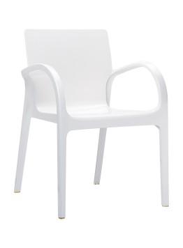 Krzesło Dejavu Siesta białe