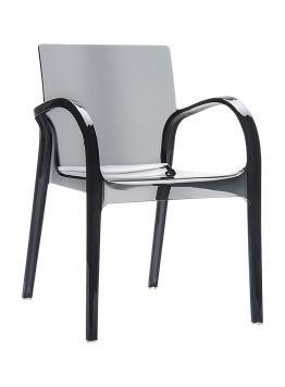 Krzesło Dejavu Siesta czarne