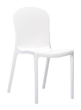 Krzesło Victoria Siesta białe
