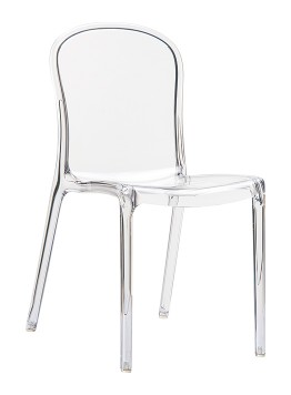 Krzesło Victoria Siesta przezroczyste