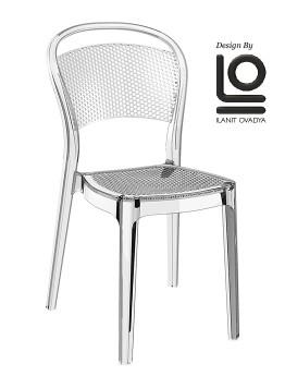 krzesło Bee Siesta przezroczyste