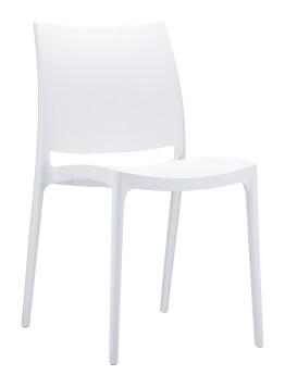 krzesło maya białe siesta