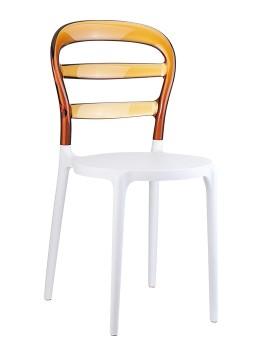 krzesło Miss Bibi siesta bursztynowe