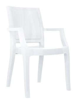 Fotel Arthur Siesta biały