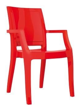 Fotel Arthur Siesta czerwony