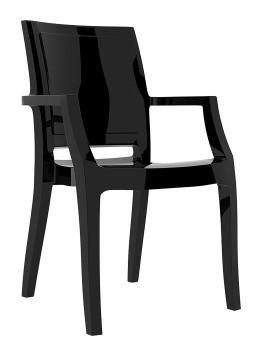 Fotel Arthur Siesta czarny