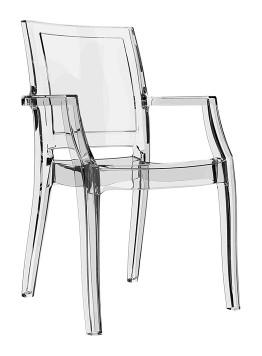 Krzesło Arthur Siesta przezorczyste