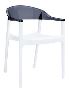 Fotel Carmen Siesta białe