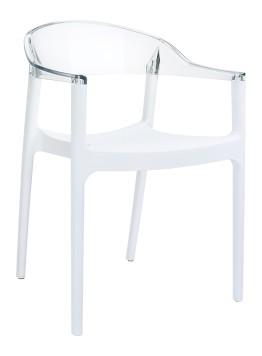 Krzesło Carmen przezroczyste