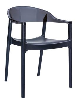 Fotel Carmen Siesta czarny