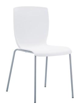 Białe krzesło Mio Siesta