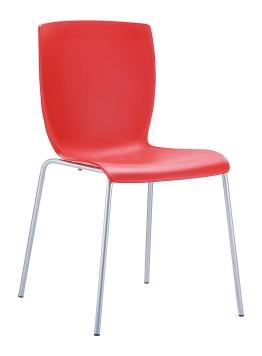 Krzesło Mio Siesta czerwone