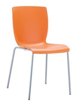 krzesło pomarańczowe Mio sietsa