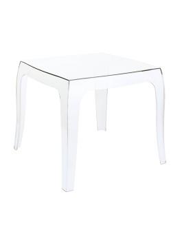 Queen Siesta stolik przezorczysty