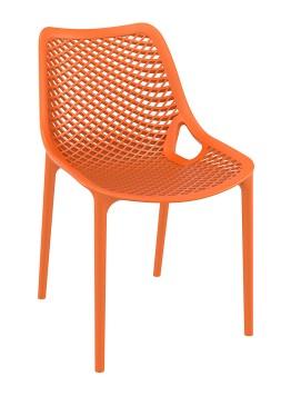 Krzesło Air Siesta pomarańczowe plastik