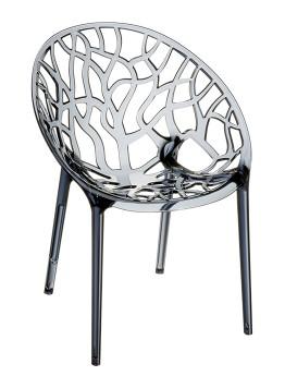 Krzesło Crystal Siesta przezroczyste