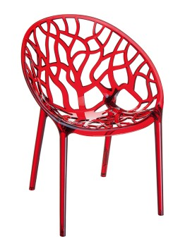 Krzesło Crystal Siesta do restauracji