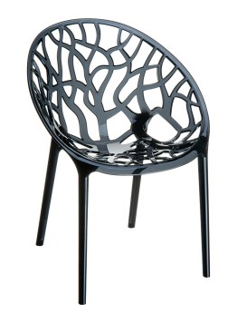 Krzesło Crystal Siesta do kawiarni