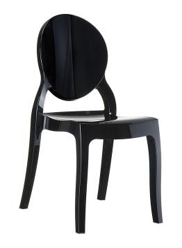 Krzesło ELIZABETH SIESTA czarne