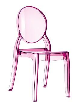 Krzesło ELIZABETH SIESTA różowe
