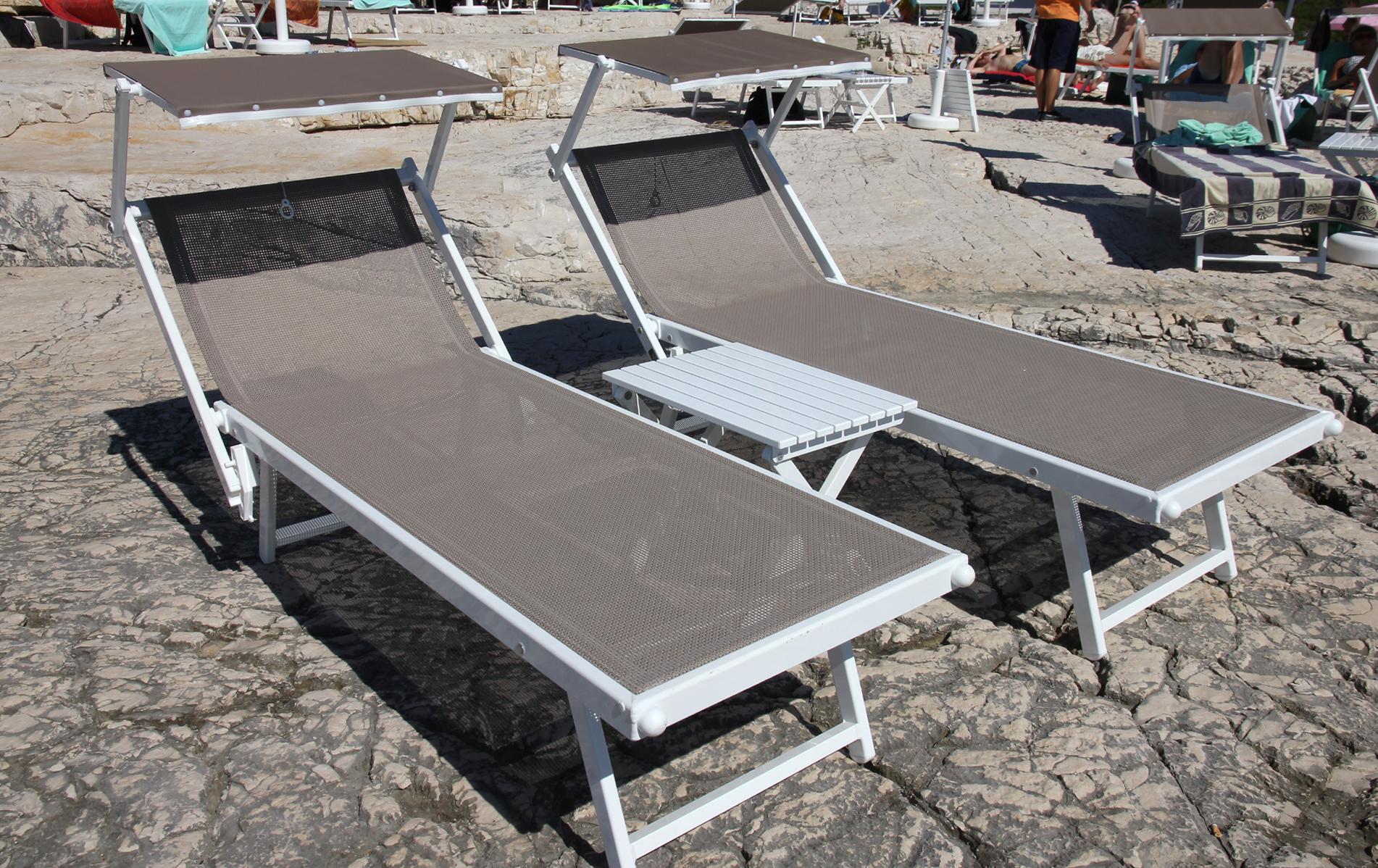 leżaki basenowe Nikobeach SMECA