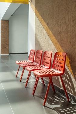 Krzesło Koi Booki Pedrali