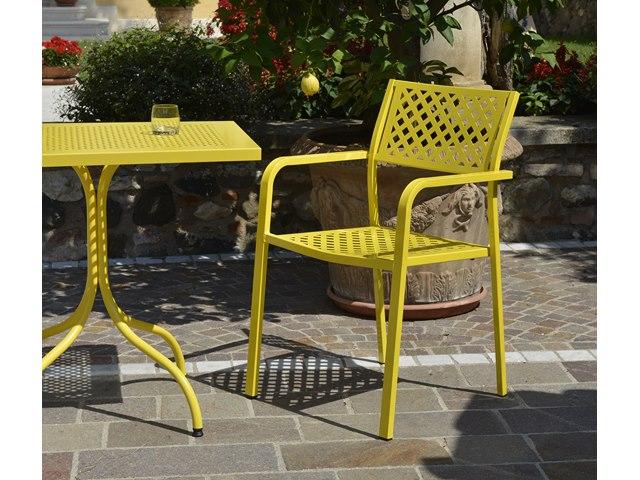 Krzesło ogrodowe do kawiarni LOLA RD ITALIA