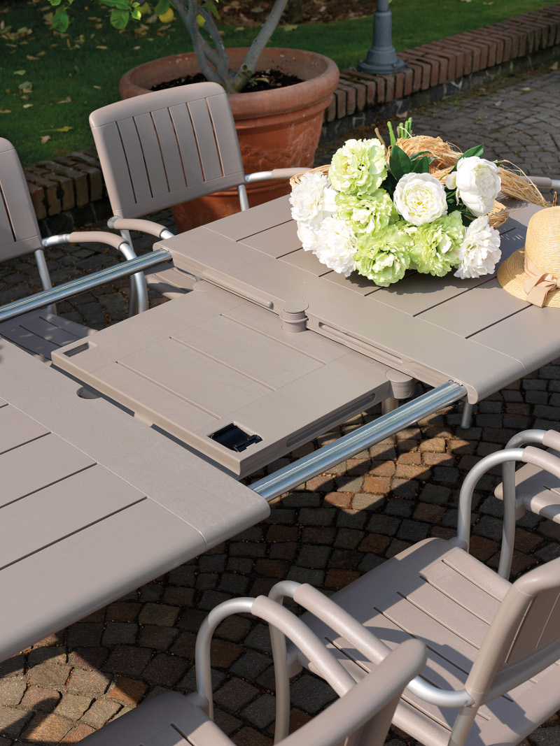 Stół do ogrodu rozsuwany maestrale nardi