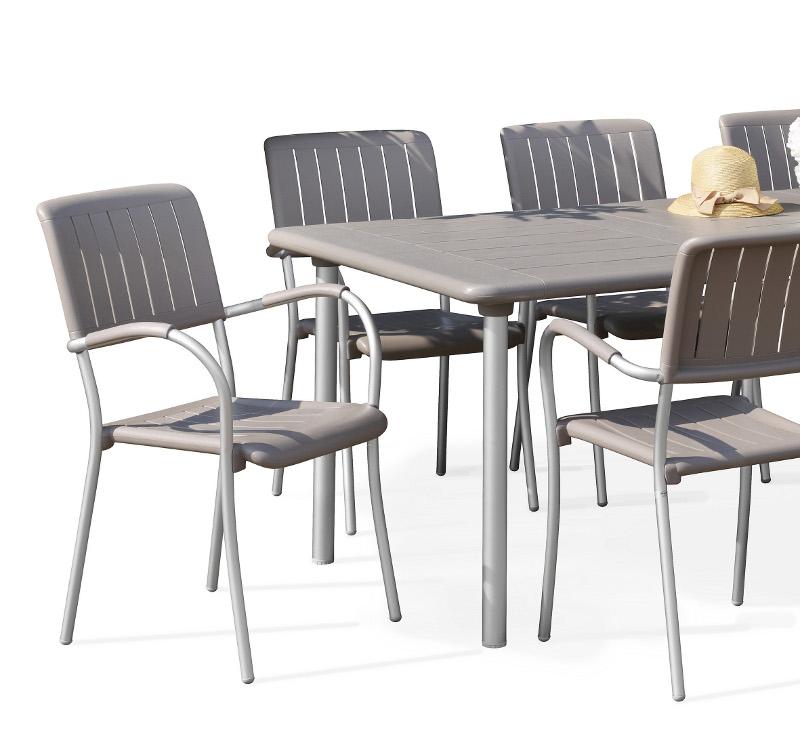 krzesło Musa zewnętrzne do restauracji Nardi