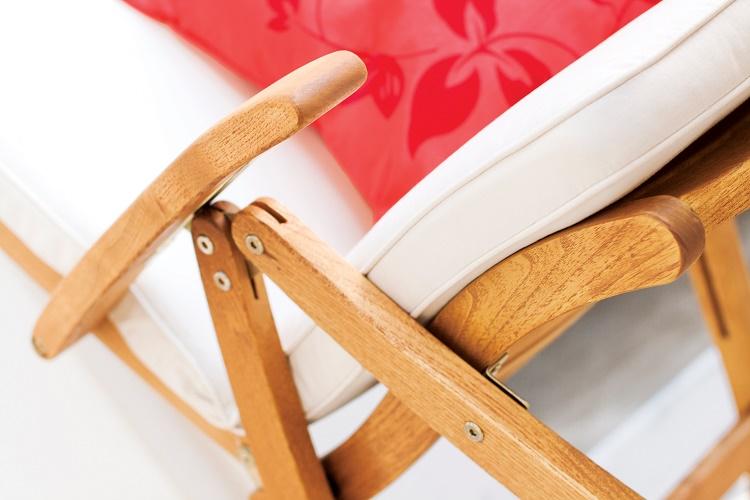 fotel składany drewniany rondo polska