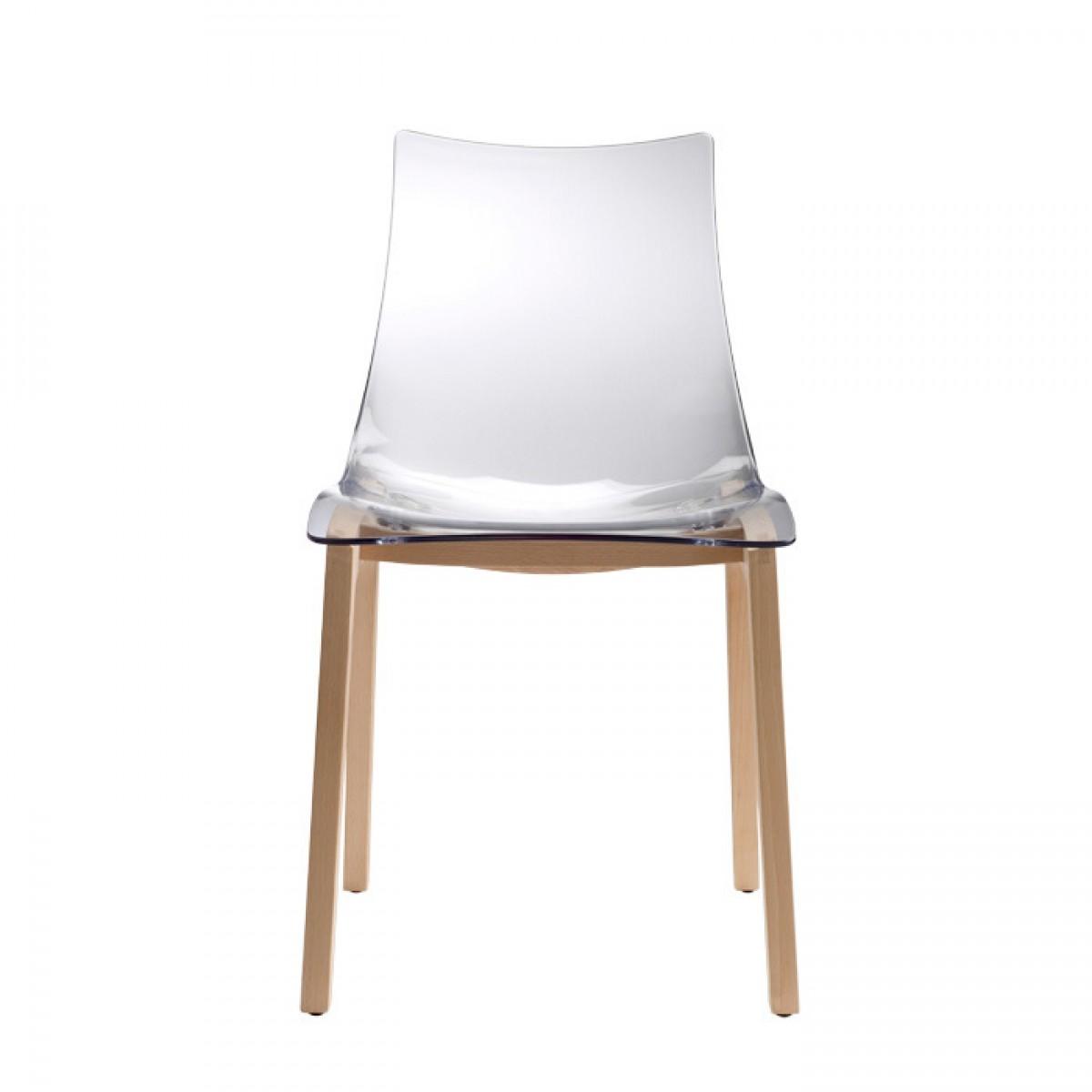 krzesło Natural Zebra Scab Design krzesło transparentne