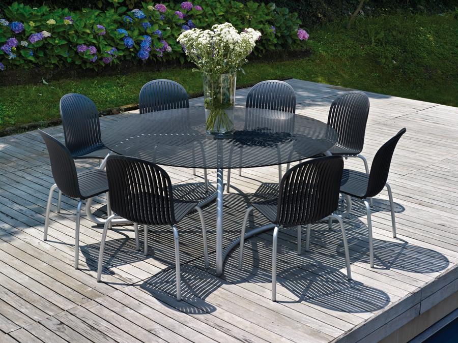 Stół okrągły na taras Loto 170 Nardi