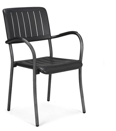 krzesło Musa antracytowe