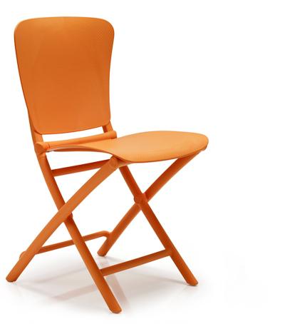 krzesło ZAC NARDI pomarańczowe