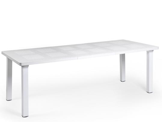 Biały stół Levante do ogrodu Nardi