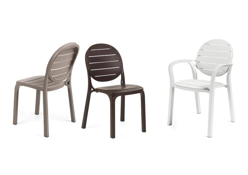 krzesło nwoczesne na taras erica nardi