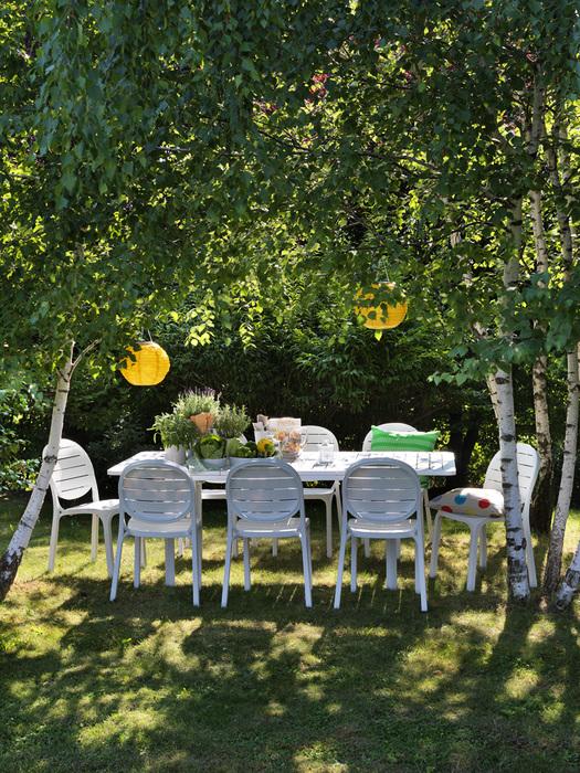 Krzesło białe Erica Nardi