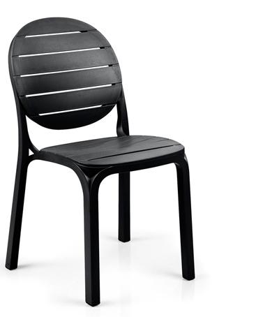 Krzesło erica nardi antracytowe