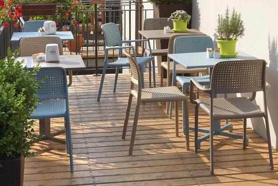 Krzesło kawiarniane Bora Bistrot włoskie Nardi