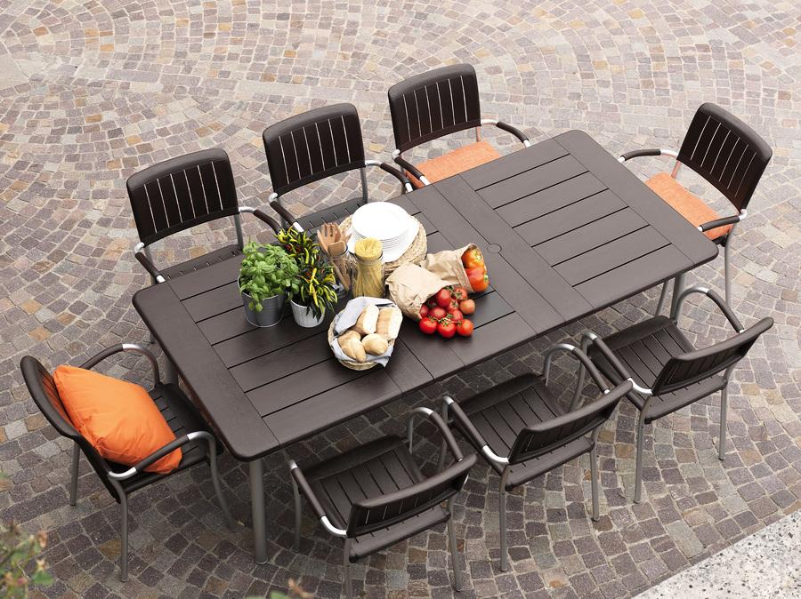 stół obiadowy do ogrodu maestrale 220 Nardi