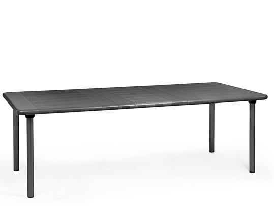 stół maestrale 220 nardi antracytowy