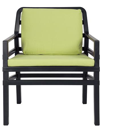 Fotel tarasowy z poduszkami Aria Nardi
